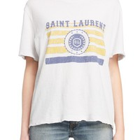 Saint Laurent Mariner Graphic Tee | Nordstrom