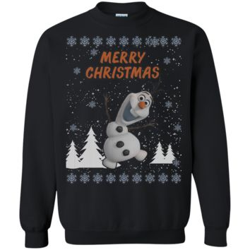 Frozen Olaf Ugly Xmas Sweater Perfect Christmas Gift