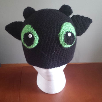 How to Train Your Dragon Toothless Night Fury Hat
