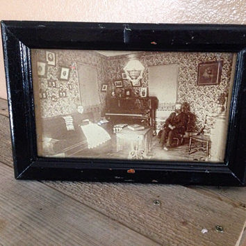 Antique farmhouse photo
