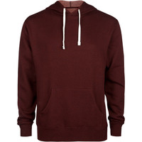 Standard Supply Slim Fit Mens Hoodie Burgundy  In Sizes