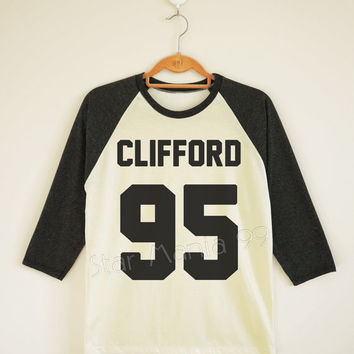 Michael Clifford Shirt 5SOS Shirt 5 Seconds of Summer Shirt Long Sleeve Shirt Women TShirt Unisex TShirt Raglan Baseball TShirt Size S,M,L