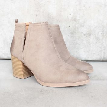 Side Slit Chelsea Ankle Booties   More Colors