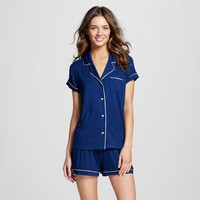 Women's Pajama Set Total Comfort - Gilligan & O'Malley™ - Nighttime Blue S