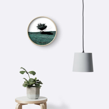 'Tree On Hill' Clock by by-jwp