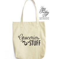 Groceries & Stuff - Tote Bag