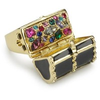 Disney Couture Kidada Collection Treasure Ring, Size 7 - designer shoes, handbags, jewelry, watches, and fashion accessories | endless.com