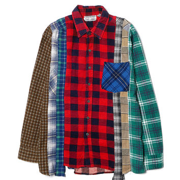 Rebuild by Needles 7-Cut Flannel Shirt