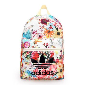 Adidas Trending Fashion Sport Laptop Bag Shoulder School Bag Backpack-1