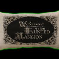 Halloweentown Store: Haunted Mansion Pillow