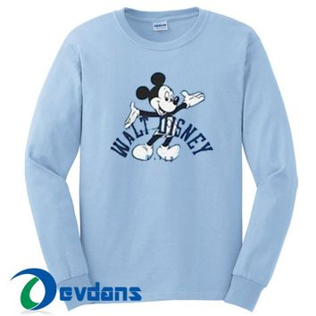 Walt Disney World Mickey Sweatshirt Unisex Adult Size S to 3XL