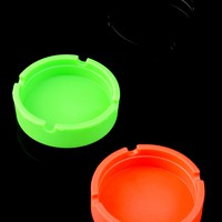 Round Silicone Ashtray - M190