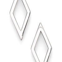 Women's Bony Levy Open Diamond Shape Stud Earrings (Nordstrom Exclusive)