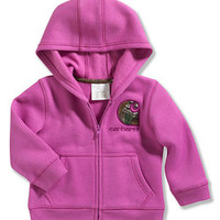 Purple Logo Hooded Jacket - Infant & Toddler | zulily