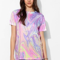 Jaded London Swirl Paint Crewneck Tee - Urban Outfitters