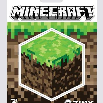 Minecraft Dirt Block Sticker