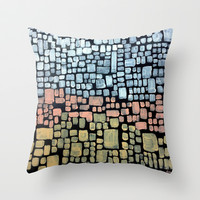 :: No Wonder You Can't Sleep :: Throw Pillow by GaleStorm Artworks