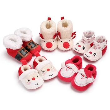 Baby Christmas Boots