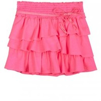 Tiered Knit Skirt With Belt | Skirts & Skorts | Clothes | Shop Justice