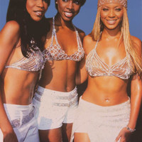 Destiny's Child Diamond Divas Beyonce 2001 Poster 24x34