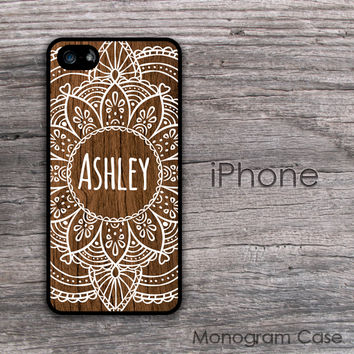 Mandala customized iPhone hard cover