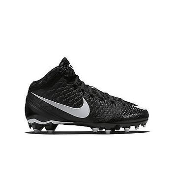 Boy's Nike CJ 3 Pro TD Football Cleat Black/Anthracite/White Size 1 M US