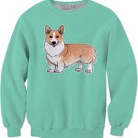 Welsh corgi dog Sweatshirt