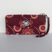 iPhone Clutch / Wallet / Wristlet with Detachable Strap / Twist Lock Closure / Ty Pennington /  Ready to Ship