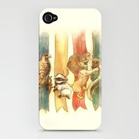 House Brawl iPhone Case by Alice X. Zhang | Society6
