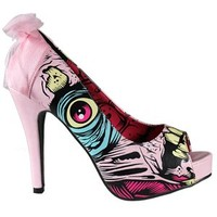 Iron Fist Grave Dancer Peep Toe Platform Heels - Buy Online at Grindstore.com