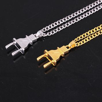 Gift Stylish Shiny Jewelry New Arrival Accessory Punk Strong Character Innovative Necklace [11192814292]
