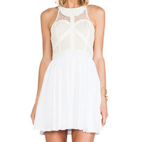 bless'ed are the meek Organic Dress in Cream