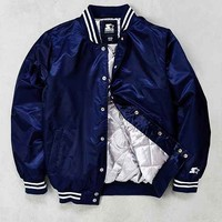 Starter Hooded Varsity Jacket