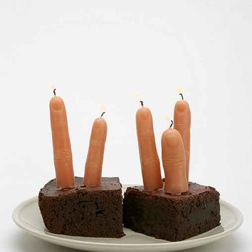 Finger Candle - Pack Of 5- Assorted One