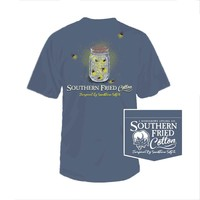 Palmetto Moon | Southern Fried Cotton Lightning Bug T-shirt | Palmetto Moon
