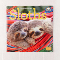 2018 Sloth 12-Month Wall Calendar | Urban Outfitters