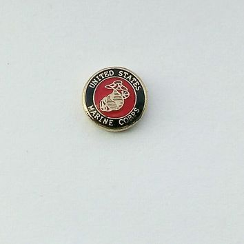 United States Marine Core Floating Charm