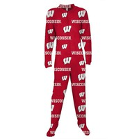 College Concepts Wisconsin Badgers Ramble Union Suit