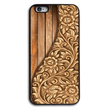 Wood Floral Print Case for iPhone and Samsung Series,More Phone Models For Choice