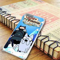 Game Of Thrones With Jon And Ghost Adventure Time iPhone 6 Plus   iPhone 6S Plus Case