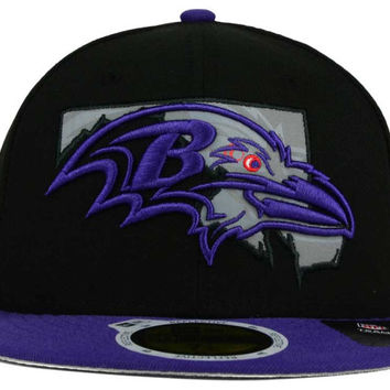 Baltimore Ravens NFL State Flective Redux 59FIFTY Cap