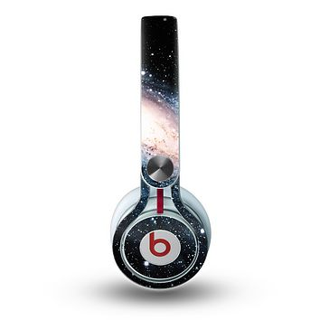 The Swirling Glowing Starry Galaxy Skin for the Beats by Dre Mixr Headphones