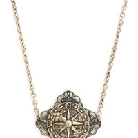 ModCloth Steampunk Where You'll Lead Necklace