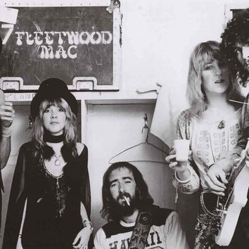Fleetwood Mac Band Poster 24x36