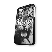 Wild Life MEOW Tiger Vintage iPhone 5/5S Case