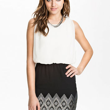 Sassi Sister Short Dress - Vero Moda - Snow White - Party Dresses - Clothing - Women - Nelly.com