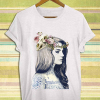 Screenprint funny popular shirt on etsy lana del rey born to die tattoed for t shirt mens, t shirt woman available size by RnhKaos