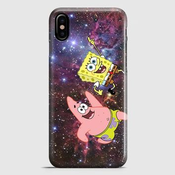Spongebob Face 2 iPhone X Case