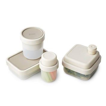 Compact Lunch Containers | matching lunch tupperware, storage