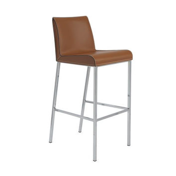 Set of 2 Cam Bar Stools design by Euro Style